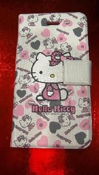 Leather Hello Kitty Iphone4 Case  $12.00