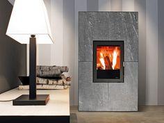 Design minimal per stufe a pellet o legna Una tecnologia per ogni ...