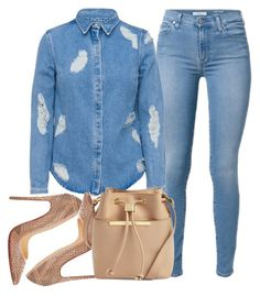 """""""Untitled #62"""" by honeyloverfriend on Polyvore featuring House of Holland, Christian Louboutin and Ted Baker"""
