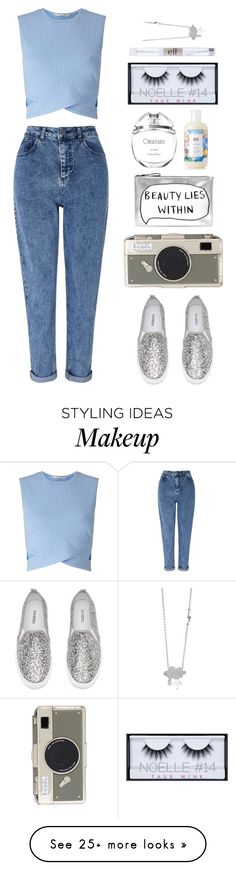 """""""Untitled #202"""" by peachgirl-style on Polyvore featuring Miss Selfridge, Kate Spade, Accessorize, Calvin Klein, R+Co, Huda Beauty and e.l.f."""