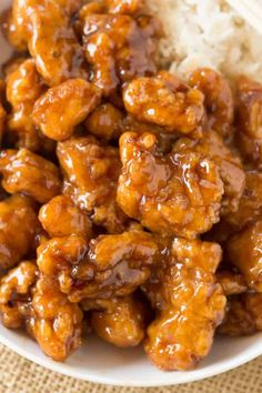 Panda Express Orange Chicken with tender chicken thighs fried crisp and tossed in a magical perfect-copycat sauce! Panda Express Orange Chicken with tender chicken thighs fried crisp and tossed in a magical perfect-copycat sauce! Air Fryer Recipes Snacks, Air Fryer Recipes Low Carb, Air Fryer Recipes Breakfast, Crispy Honey Chicken, Panda Express Orange Chicken, Express Chicken, Orange Chicken Sauce, Easy Orange Chicken, Chinese Recipes
