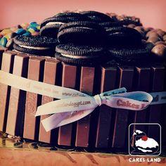 """#Oreo #KitKat #Maltesers #M_Ms #Chocolate #Chocolate_overdose #happnies #Cakes_Land_Egypt"""