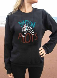 Twenty one pilots logo Sweater Sweatershirt Unisex by Kiddingshop