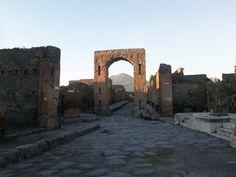 Antike Stadt Pompeji - Fourm