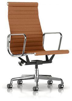 Herman Miller Eames Aluminum Group Chair Cygnus Black Office
