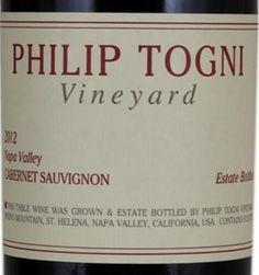 2012 Philip Togni Cabernet Sauvignon