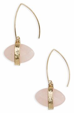 Main Image - Canvas Jewelry Marquise Jewel Threader Earrings