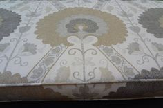 """Mudroom Bench Seat Cushion Cover, 67.5"""" x 18.5"""" x 3"""", Use Your Fabric, Includes Piping and Zipper. Made to Order."""