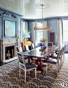 Steve Gambrel Imbues A Storied Manhattan Duplex With His Signature Style Photos | Architectural Digest