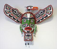Komokwa • Chief of the Undersea World Mask by Stephen Bruce, Kwakwaka'wakw artist (W70303)