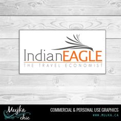 Indian Eagle Travel Agency Logo Design Want a logo design for your company? Contact me! www.mujka.ca