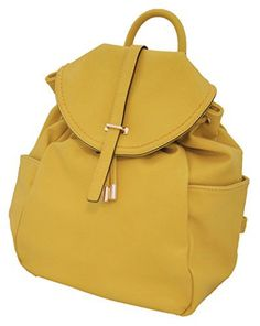 New Trending Backpacks: MoDA Casual Womens Back Pack Draw String Faux Leather Purse School Handbag (Yellow). MoDA Casual Women's Back Pack Draw String Faux Leather Purse School Handbag (Yellow)  Special Offer: $19.99  155 Reviews MoDA gets it, you are the type of woman that loves to experience life hands on! That's why you need the perfect bag that shows your unique style as but...