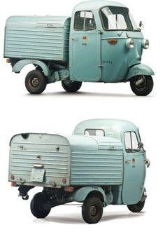 Motocarro - 1963 Piaggio Ape