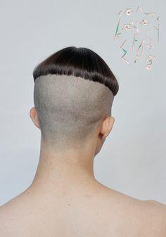 Mushroom Haircut, Black Hair Band, Long Mohawk, Black Mage, Fancy Braids, Brown Curls, Lace Mask, Bald Heads, Dark Roots