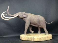 DansDinosaurs - Columbian Mammoth (scale1/20): by Mountain's Animal Studio  - Lu Feng Shan