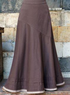 Asymmetrical Flared Skirt - New Arrivals - Women Modest Dresses, Summer Dresses, Long Skirt Outfits, Long Maxi Skirts, Mature Fashion, Flare Skirt, Muslim Dress, Dress Skirt, Fashion Dresses