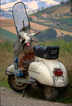 This is a true representation of the raw utilitarian vehicle that is Vespa