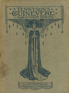 Tennyson's Guinevere | Florence Harrison Cover Art