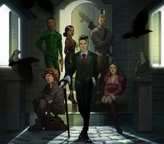 Finished Six of Crows and almost done with Crooked Kingdom! I love me a ragtag crew and these guys are some of the best Six Of Crows Characters, Book Characters, Character Inspiration, Character Art, Character Design, Fanart, Lockwood And Co, Crooked Kingdom, The Grisha Trilogy