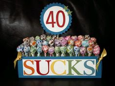 50 sucks @Jean Marsicek  idea for this weekend? Great idea for Birthday gift.