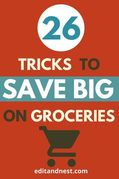 Learning how to save money on groceries is the best way to start lowering the cost of your basic utilities. This post will help beginners to start a frugal living lifestyle in the most pain free way by learning ways to save money on food and stay healthy without the hassle of coupons. A grocery budget can quickly spiral if you go to the shops unprepared, so check out this list of crucial tips. #savemoneyongroceries #frugalliving #savemoney #coupons #groceryshopping Save Money On Groceries, Ways To Save Money, Money Tips, Money Saving Tips, Budgeting Finances, Budgeting Tips, Managing Money, Money Saving Challenge, Frugal Living Tips