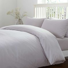 Brushed Cotton Bed Linen Collection | Dunelm