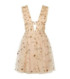 Valentino Star-Embroidered Tulle Mini Dress available to buy at Harrods. Shop Valentino Star Studded collection online and earn Rewards points.