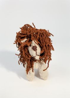 Knit Floppy Lion by Design Africa | Bohem