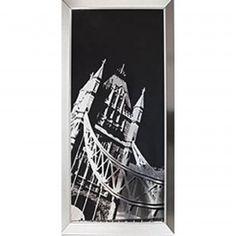 Arthouse Tower Bridge Metallic Framed Print 002410