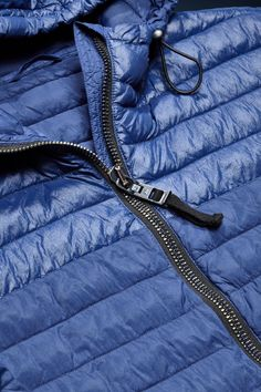 Autumn/Winter '15 #OCEANBLUE collection preview: ultra light eco down padded jacket with hand painted zippers #NorthSailsOCEANBLUE