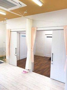 カッコいい介護施設にカーテン 介護施設 カーテン プレーンシェード