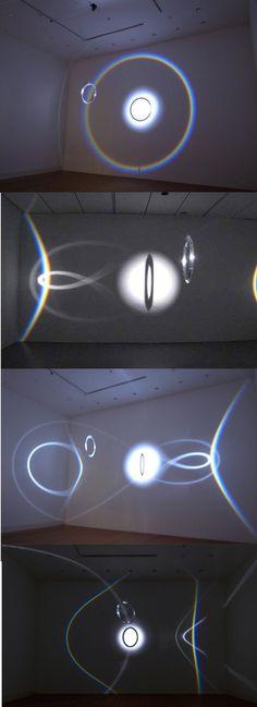 "Olafur Eliasson, ""Round Rainbow"", 2010 on ArtStack #olafur-eliasson #art:"