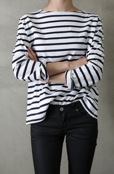 Accessorizing the breton stripey top, options options....check out the board for…