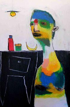 https://flic.kr/p/d8Br5U | tavolo col cassetto | 80x120 cm pastelli a olio e a cera su cartoncino. sett 2012