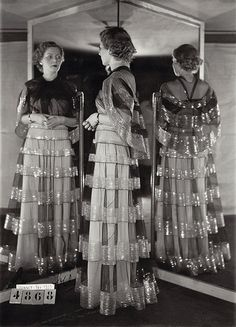 Madeleine Vionnet dress, summer 1935