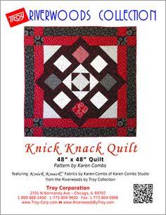 Knick Knack FREE Quilt Pattern