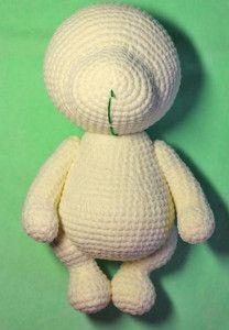 Crochet Bear Patterns, Crochet Animal Amigurumi, Crochet Doll Pattern, Crochet Art, Amigurumi Doll, Amigurumi Patterns, Crochet Dolls, Knitted Bunnies, Knitted Animals