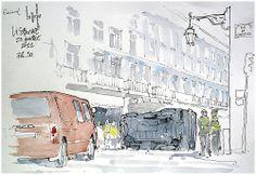 Crash, à Lisbonne.
