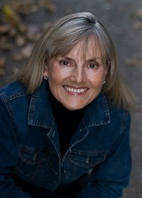 Jacqueline Winspear, author of the Maisie Dobbs mystery books. They are set in post-WWI London and are among my favorites. If you like historical mysteries you should check these out!