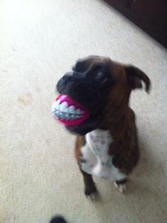 Astro & his smiley ball