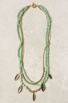 Minted Layer Necklace - Anthropologie.com