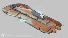 Starfold Confederacy Capital Ship concept by Tinnenmannetje found in Ship Concept Arts Vault: Steamcommunity