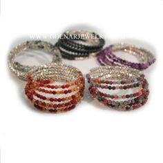 Golnar Jewelry - Memory Wire Bracelet for women MEMORY, $69.00 (http://www.golnarjewelry.com/memory-wire-bracelets/)