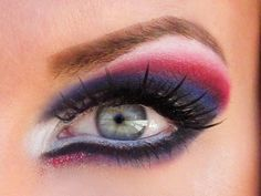 4th of July makeup??  I think so!