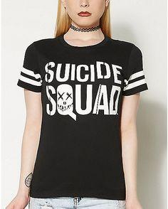 Movie Suicide Squad T shirt - Spencer's