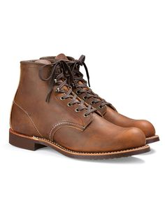 Blacksmith Boot in Rough & Tough Leather in Copper