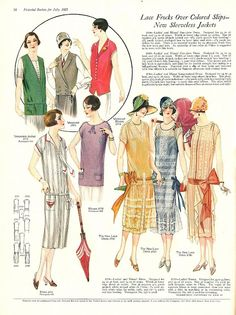 Summer Frocks and Fashion  from The Pictorial Review, July 1925