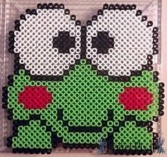 Happy+Keroppi+by+PerlerPixie.deviantart.com+on+@DeviantArt