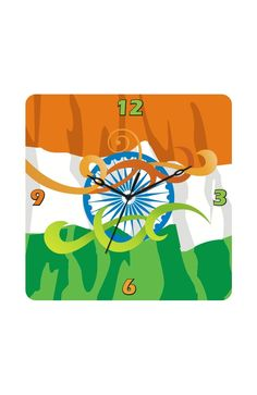 The spirit of patriotism, all the time! :)    Check out this designer Tricolor clock, only on http://www.gloob.in/tricolor.html#    Vist www.gloob.in for some fabulous  home decor ideas and products!
