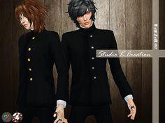 Japanese School Uniform for males at Studio K-Creation